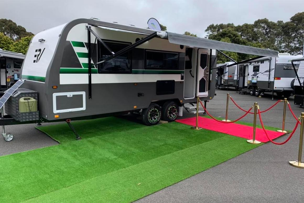 The ERV will be offered on both a single- and dual-axle platforms
