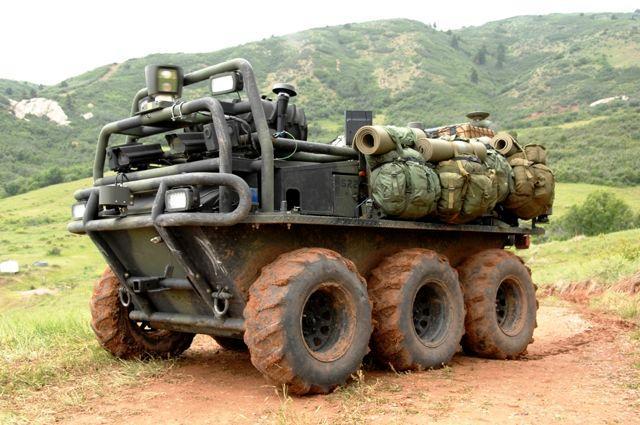 Lockheed Martin's autonomous Squad Mission Support System