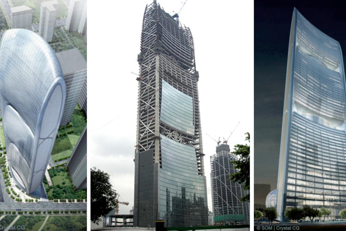 Upon completion the Pearl River Tower will be one of the greenest skyscrapers in the world