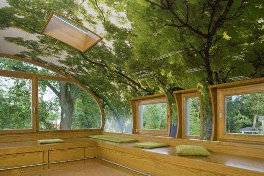 World of Living–park treehouse - interior