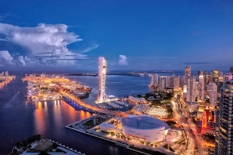Once complete, SkyRise Miami will be the tallest tower in Florida (Image: SkyRise Miami)