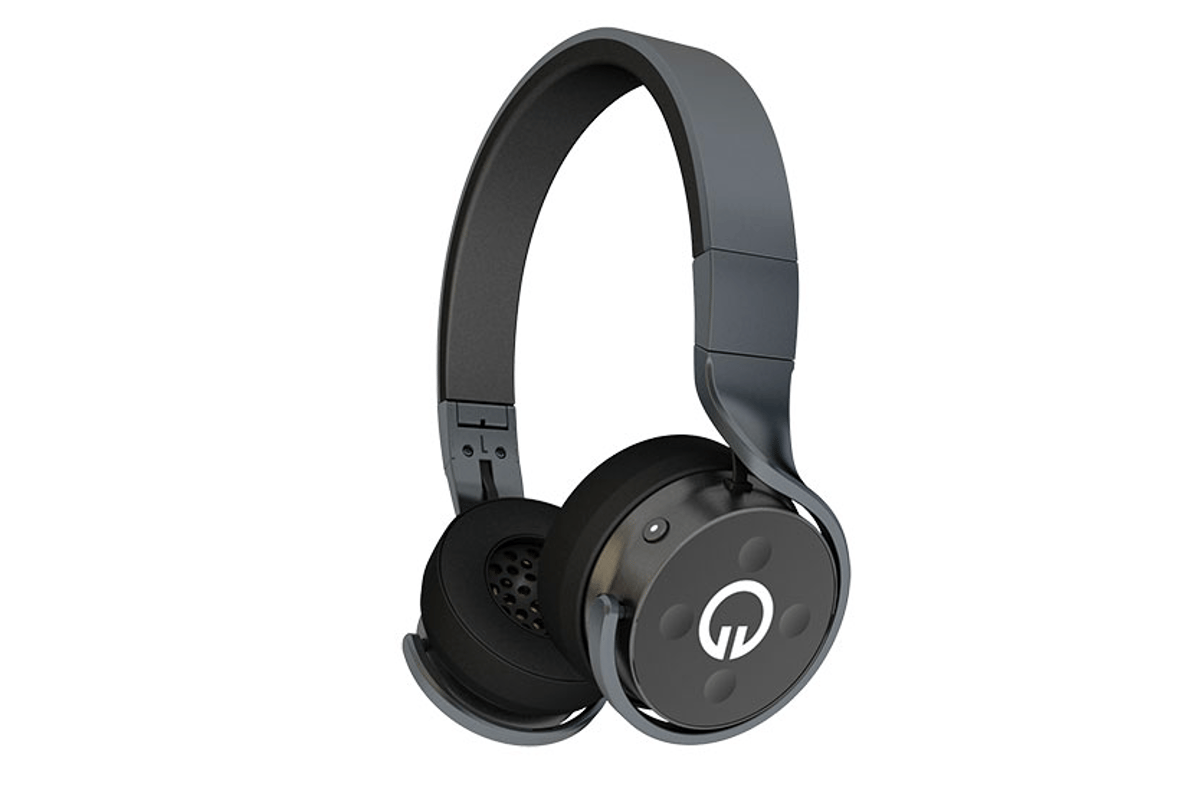 MUZIK's new on-ear headphones feature social networking connections