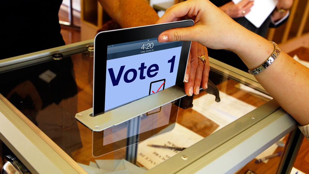 iPad tablets were used this week to enable some Oregon residents to cast their vote in a special election