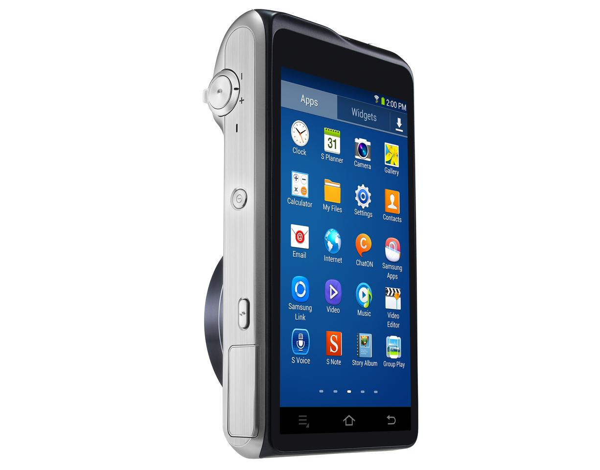 The Samsung Galaxy Camera 2 has a 4.8-inch touchscreen LCD on the rear