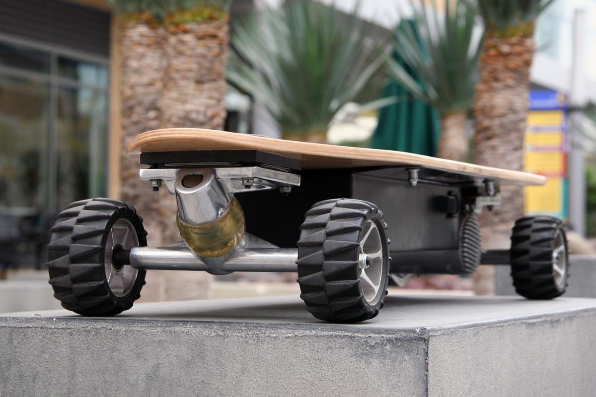 The ZBoard claims to be the first weight-sensing electric skateboard