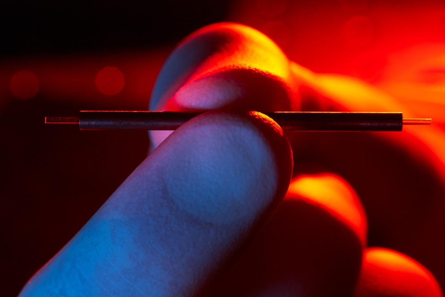 Scientists may have found a way to exploit high-frequency electromagnetic waves to miniaturize particle accelerators by a factor of 100 or more