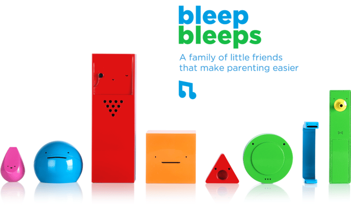 Sammy Screamer is the first in a line of parenting aides developed by London-based startup BleepBleeps, each designed to help with different aspects of parenting