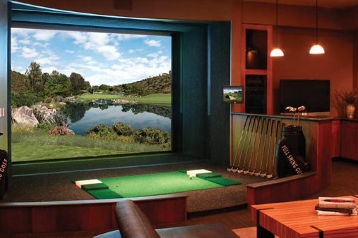 The Full Swing Golf simulator