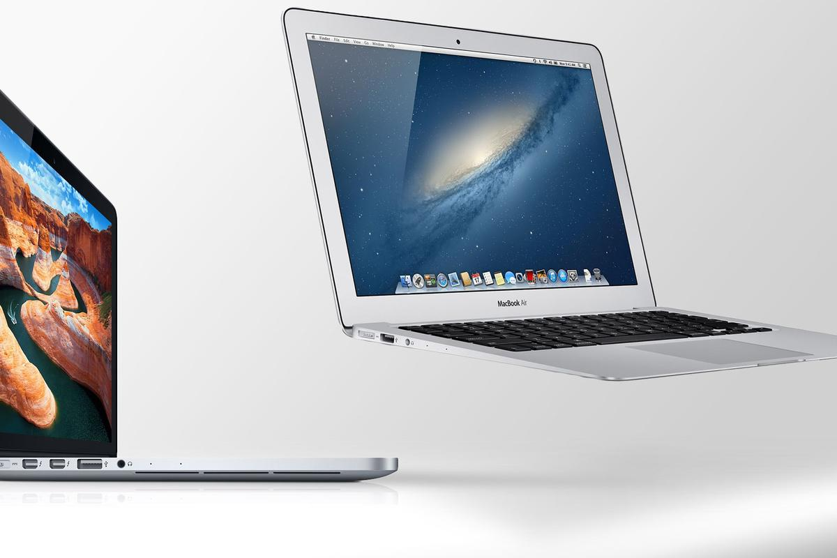 Gizmag compares the specs (and other features) of the 13-inch 2013 MacBook Air and MacBook Pro with Retina Display