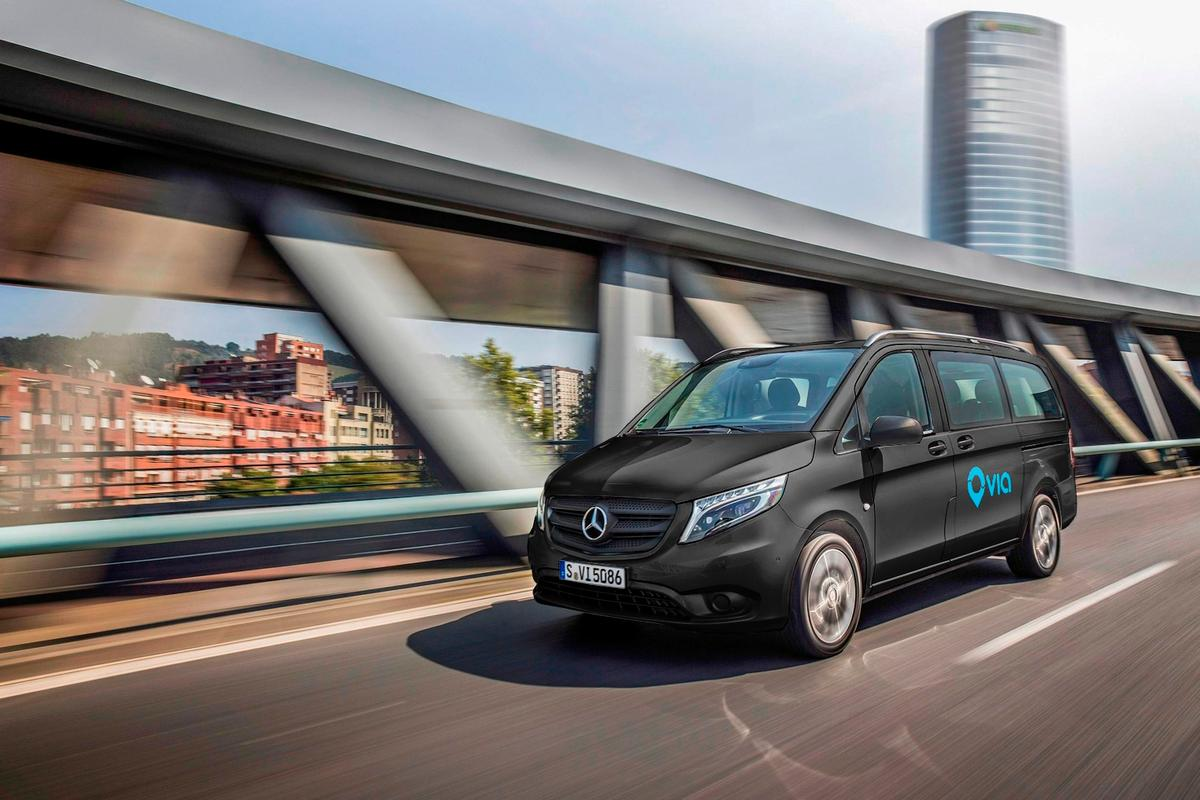 Mercedes-Benz is investing US$50 million into the new ride-sharing service with startup Via