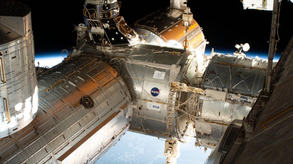 Astronauts aboard the International Space Station have tested a new antimicrobial coating called AGXX and found it to be super effective