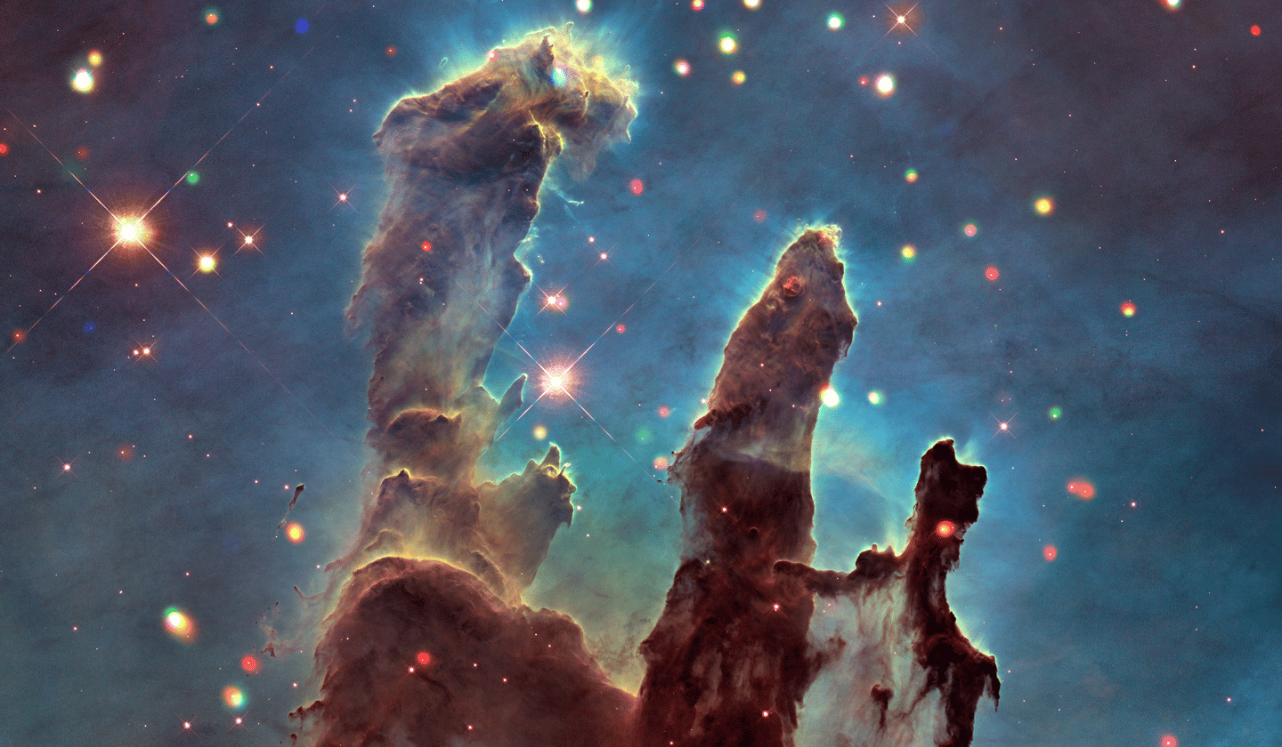 "The Pillars of Creation are one of the cosmic locations that's been translated into sound as part of Chandra's ""Sonification"" project"