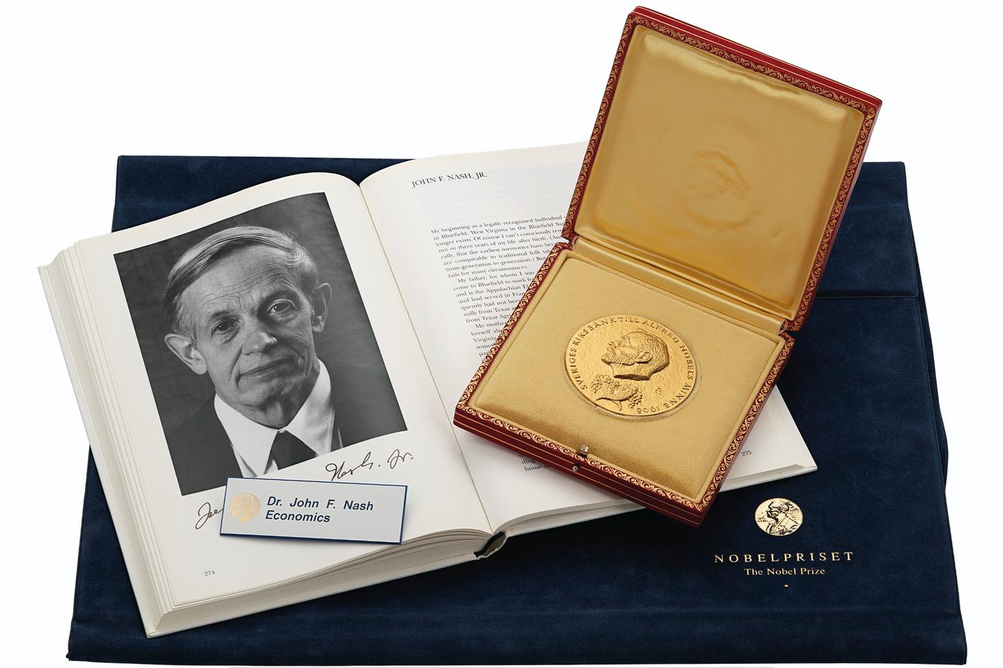 John Forbes Nash Junior (A Beautiful Mind) 1994 Nobel Prize in Economic Sciences