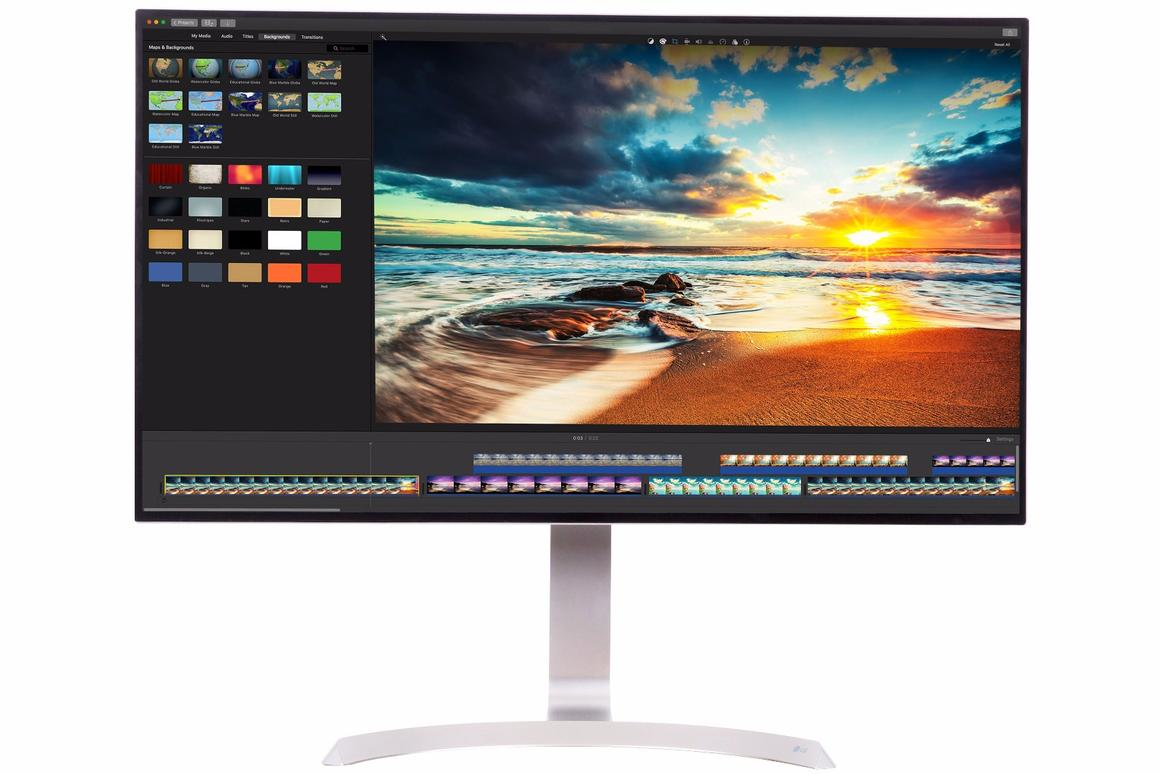 LG's 32UD99 monitor features 4K resolution and high dynamic range (HDR)