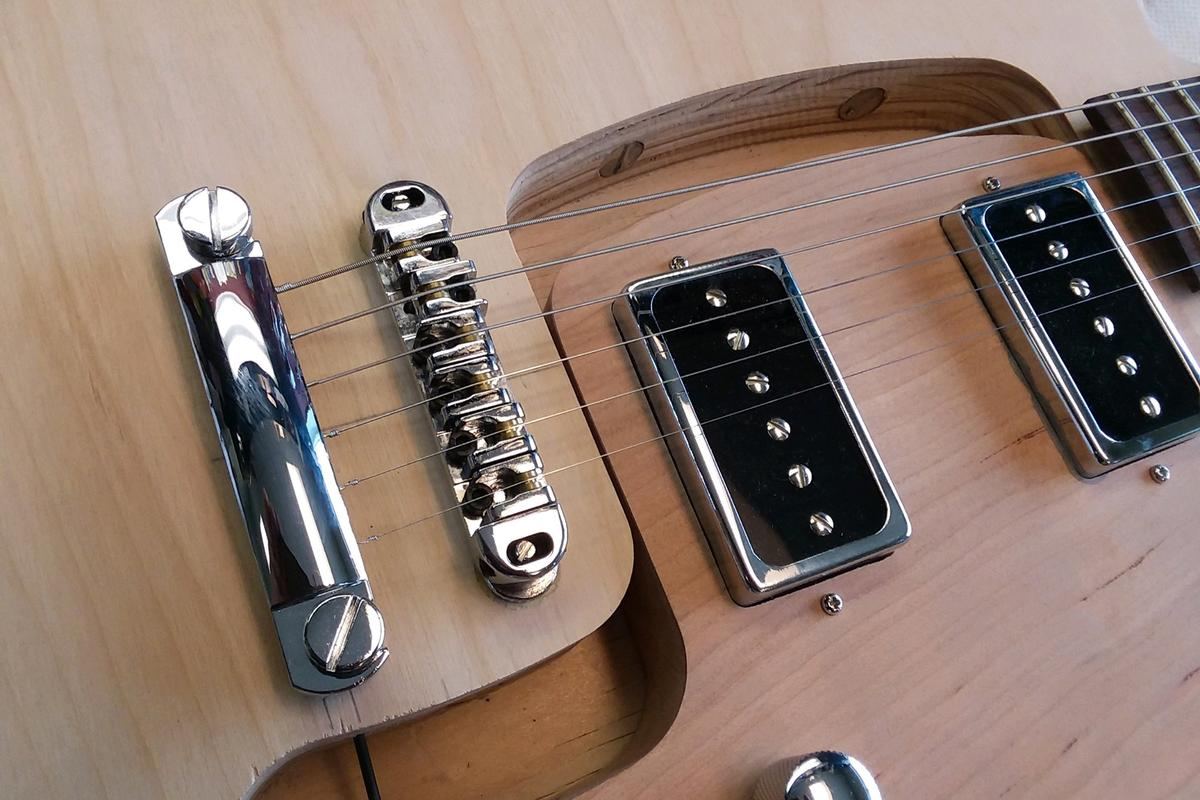 The Phoenix allows players to plug in humbuckers, single-coil or other pickups without having to break out the soldering iron