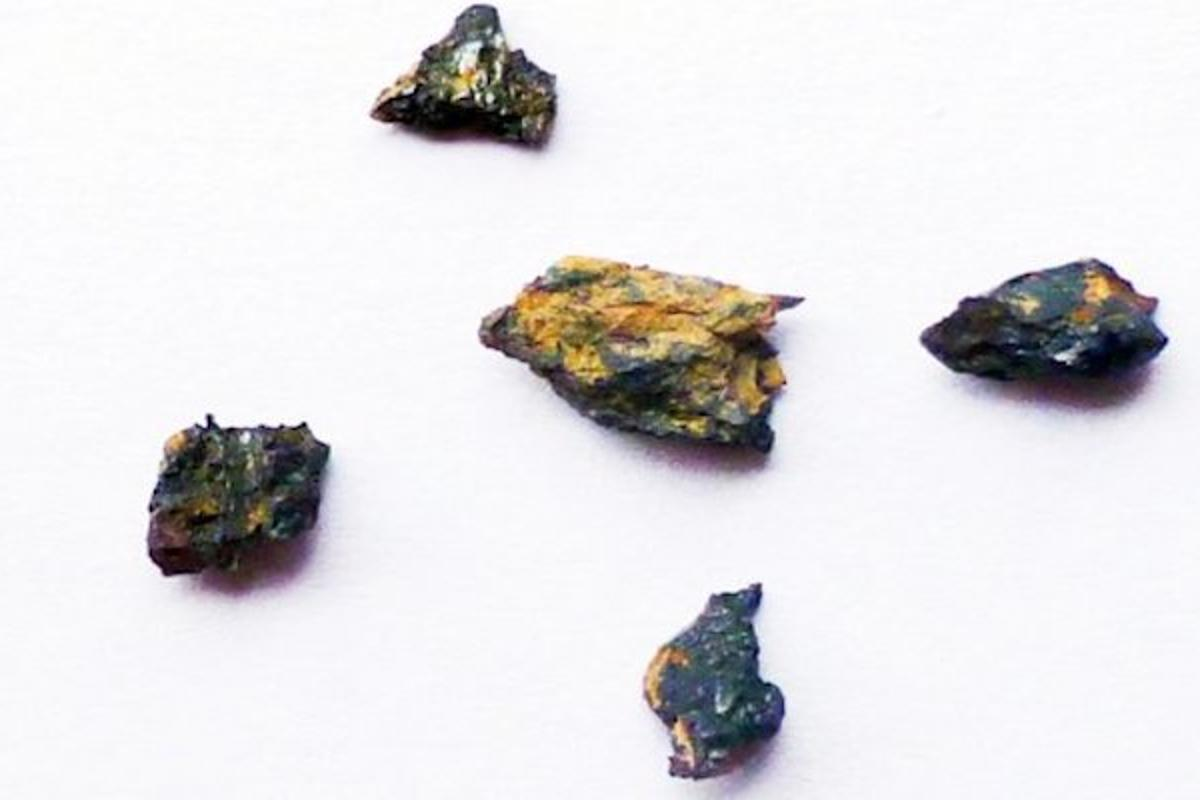 Fragments of the Hypatia stone, which has been found to predate the formation of the Solar System or have interstellar origins
