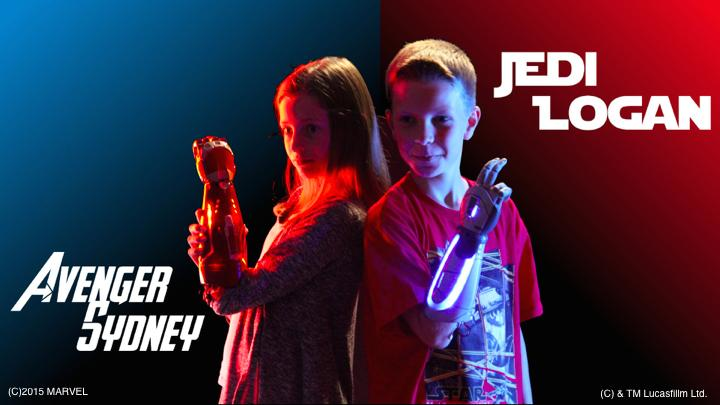Iron Man and Jedi prosthetic arms from Open Bionics allow children to enjoy the use of a prosthesis, rather than want to hide it or complain about the weight
