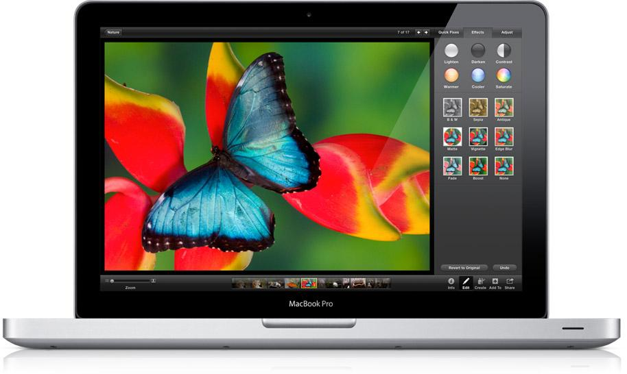 The latest MacBook Pro features Apple's Retina display