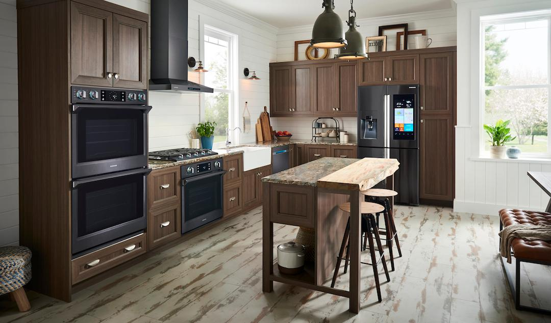 Samsung has announced a new line of built-in smart kitchen appliances