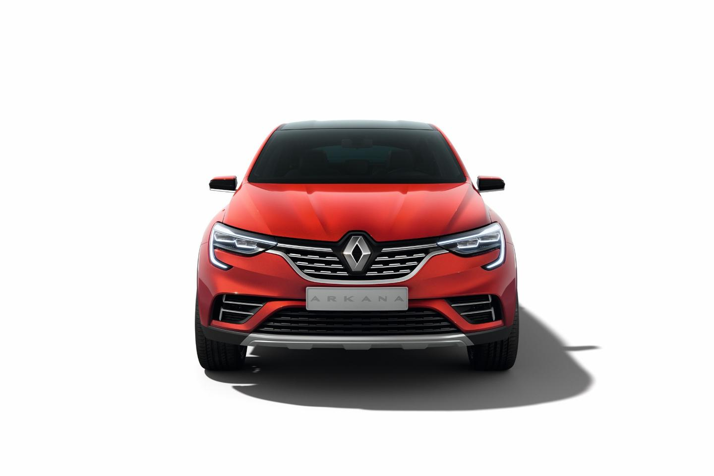 Renault Arkana: very ordinary looking front profile