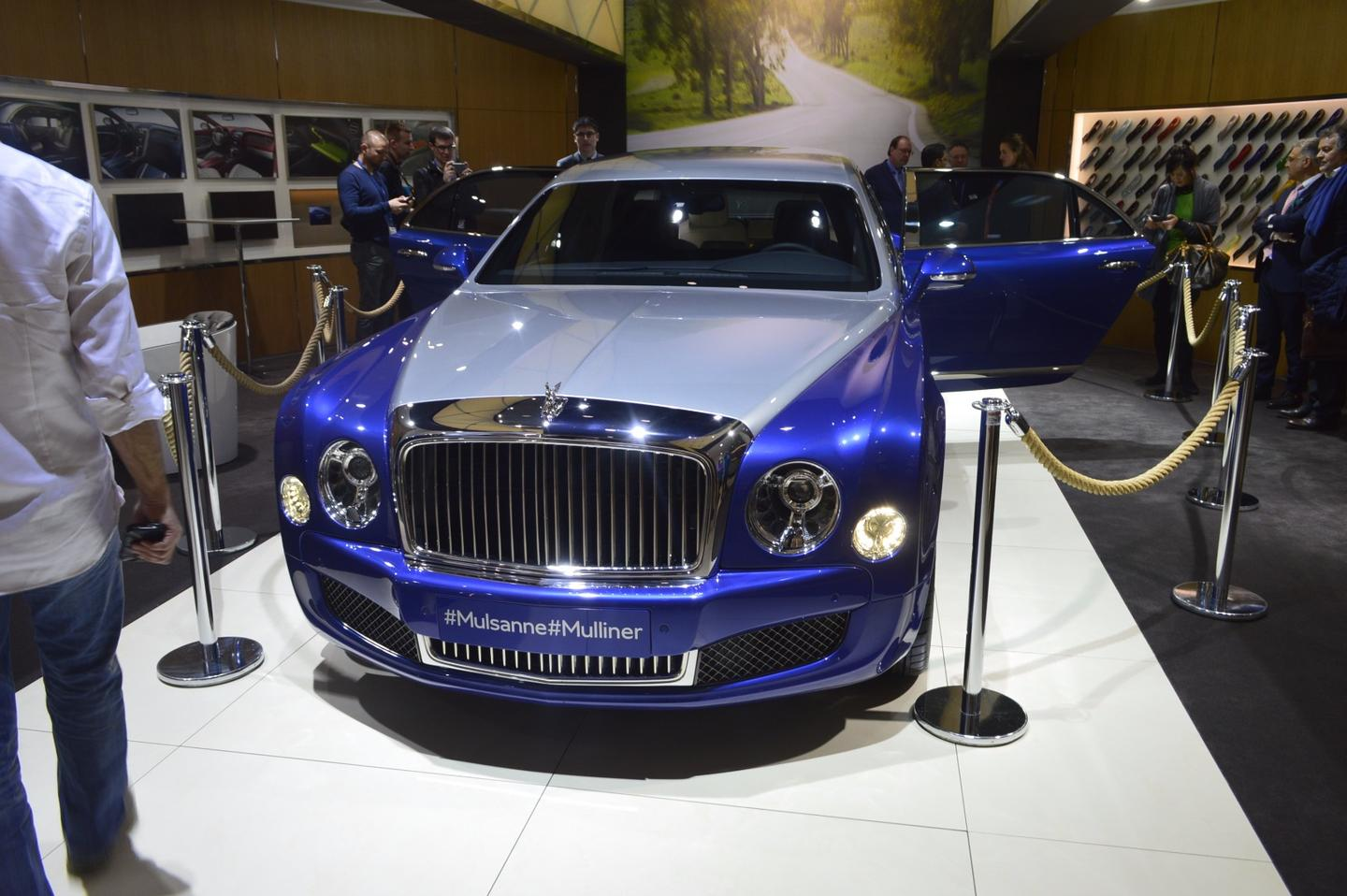 An ultra-luxury, bespoke Bentley Mulsanne Grand Limousine by Mulliner can be privately commissioned and tailored to need from Bentley's private coachbuilder