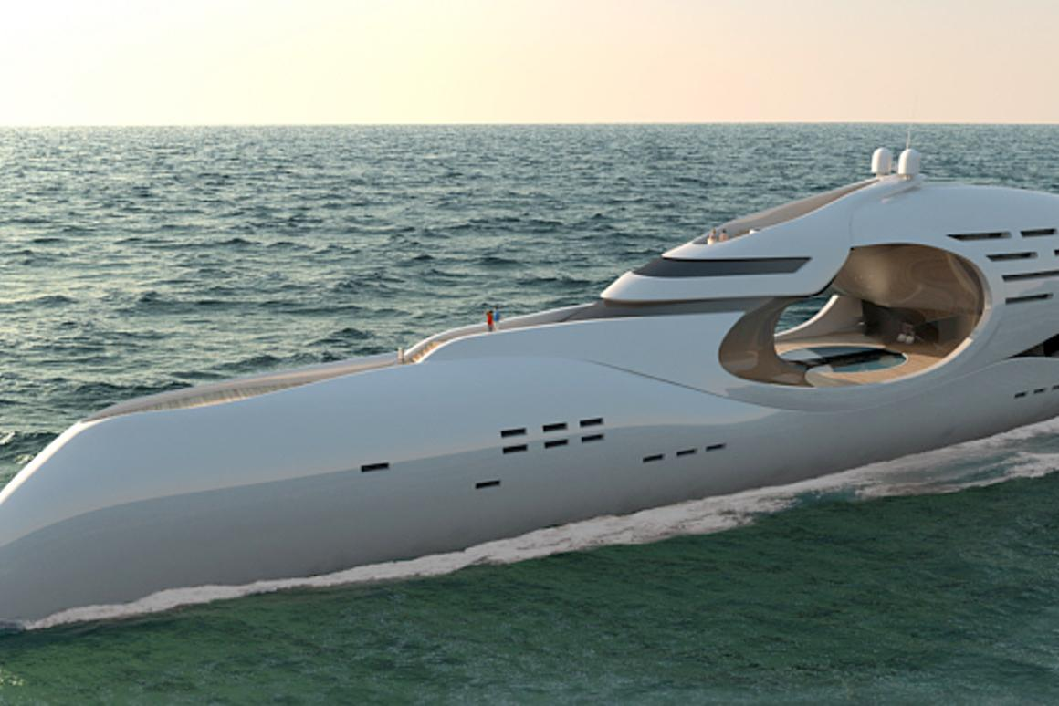 The Infinitas by Schopfer Yachts ... a unique design just waiting to take shape - 300ft long and accommodation for 16 plus crew members