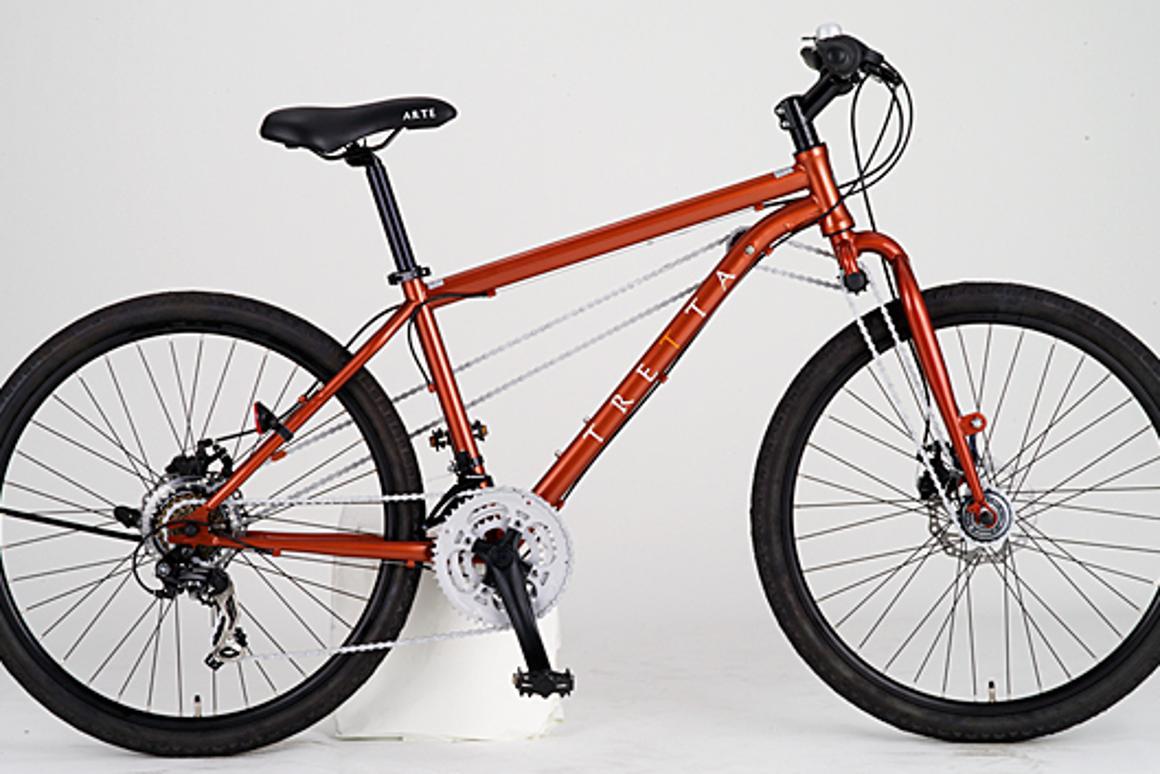 Tretta's AWD mountain bike
