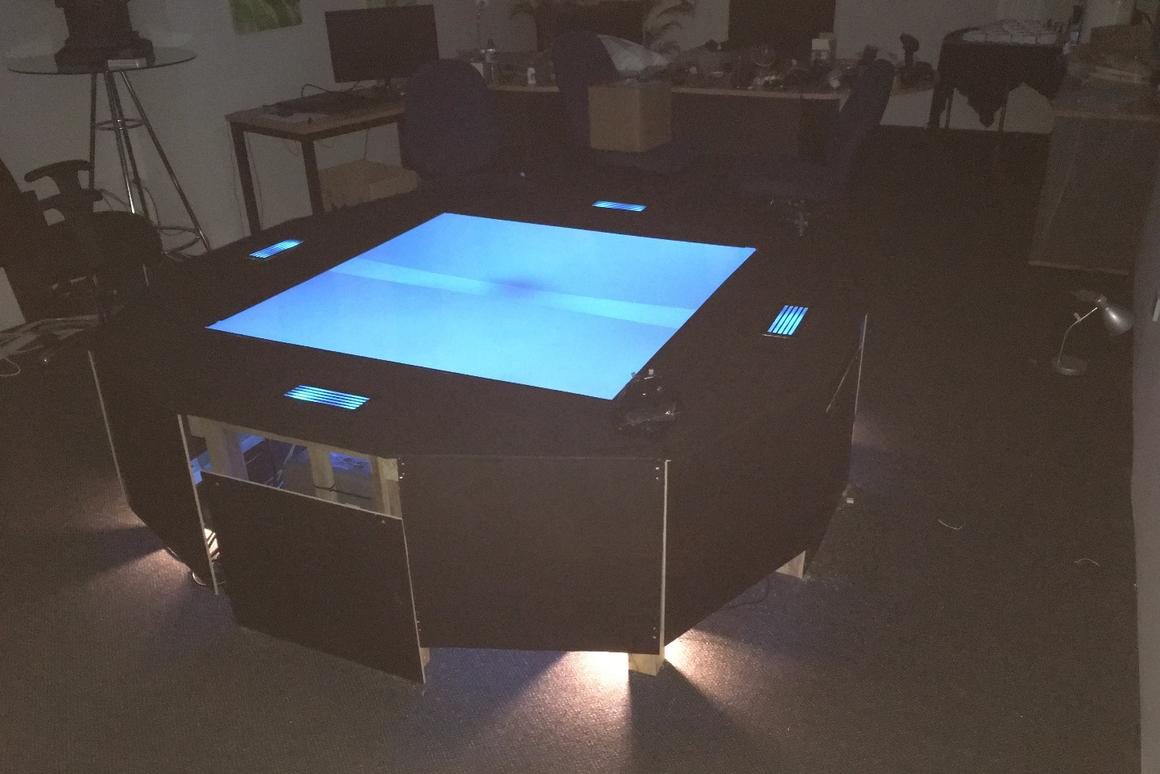 The world's first multi-user hologram table is here, on sale