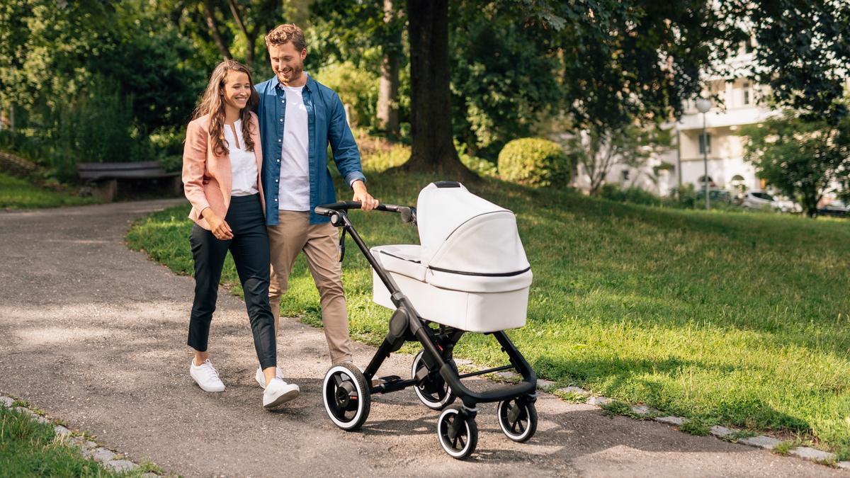 Bosch gives parents a smart electric-assist stroller