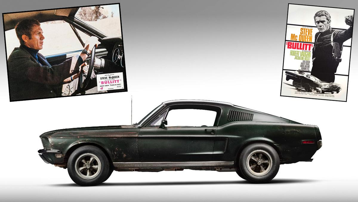 The world record auction priceof $2.2 million for a Mustang will almost certainly be smashed by the Bullitt car, as will the $1million record for a Mustang appearing in a feature film (Gone in 60 Seconds)