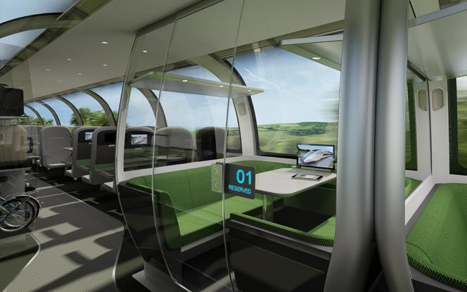 The Mercury's standard cabins