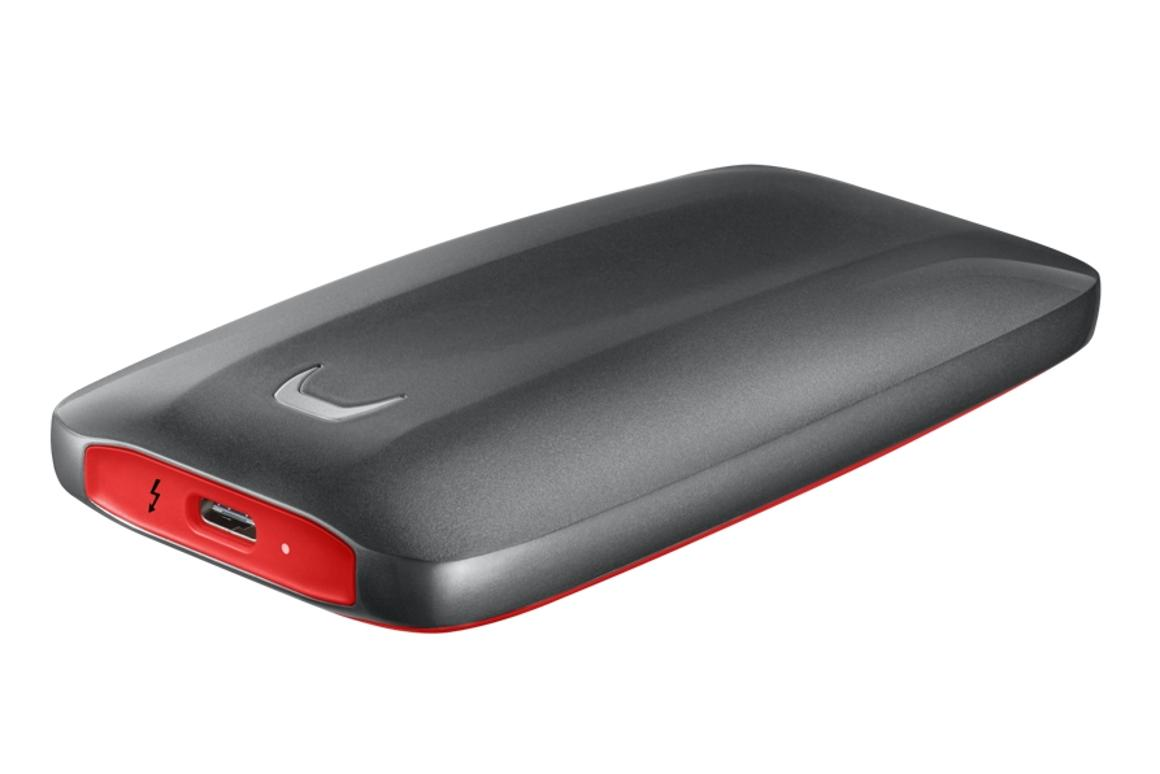 Samsung has unveiled the Portable SSD X5