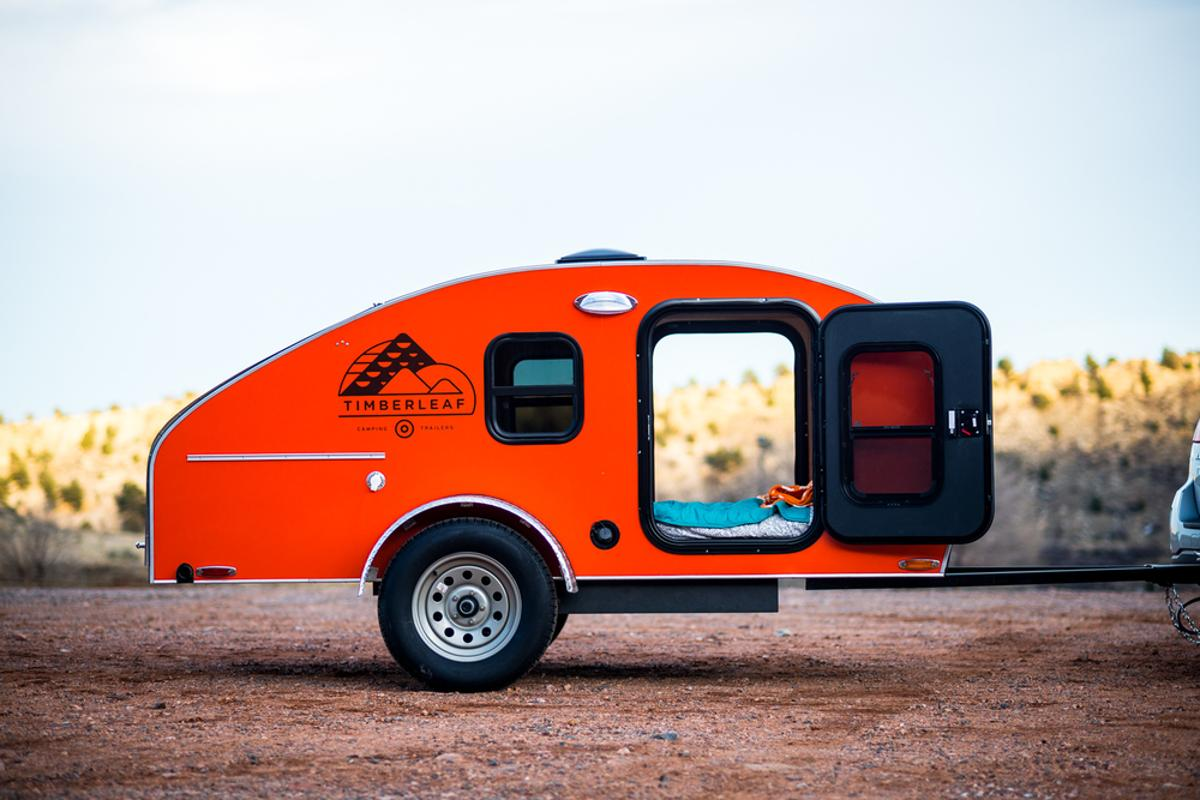 Timberleaf is a lightweight teardrop trailer out of Denver, Colorado