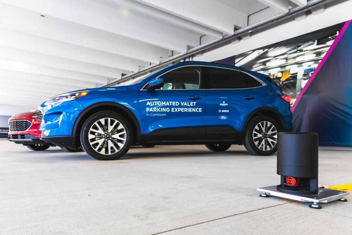 Ford describes the new system as the first US infrastructure-based solution for automated valet parking