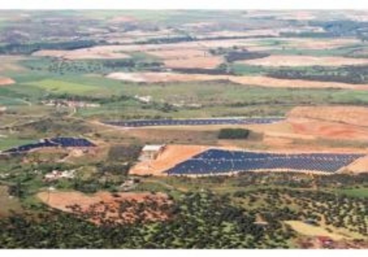 Planta Solar de Salamanca, Spain