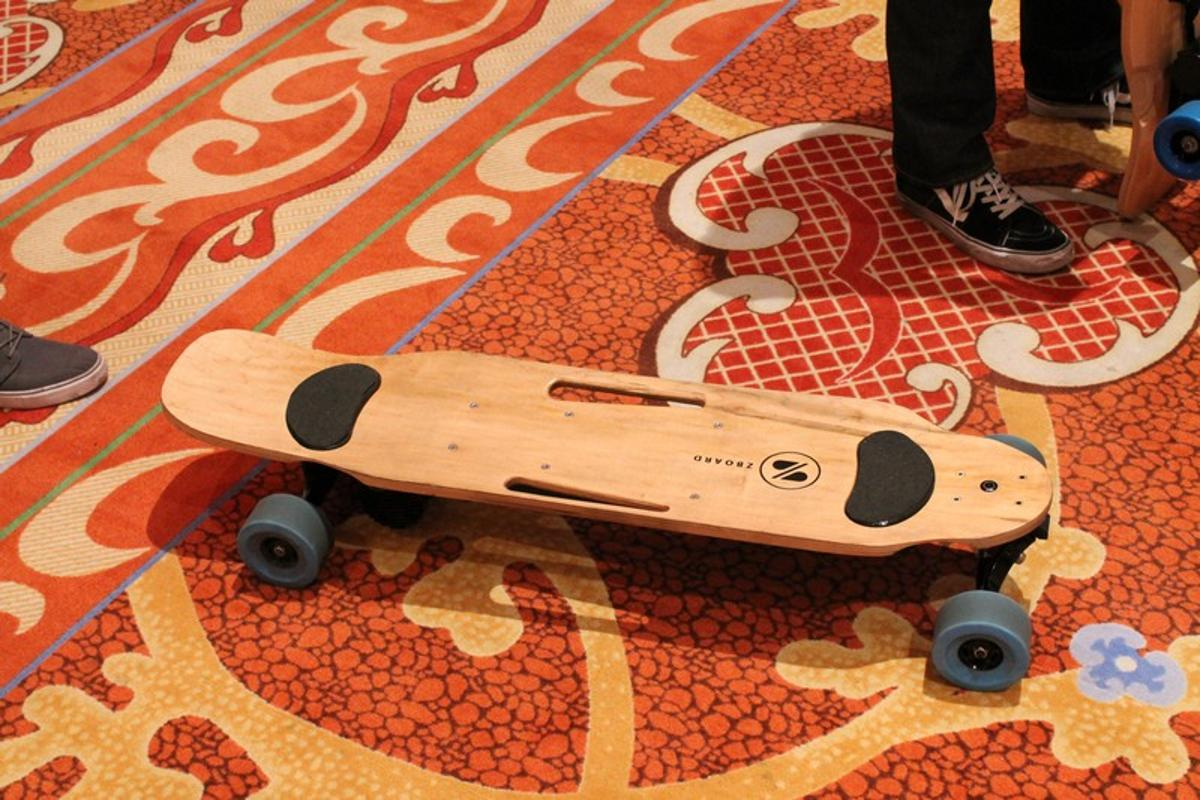 The ZBoard 2 at CES 2015 (Photo: Eric Mack/Gizmag)