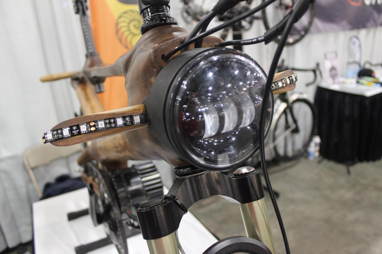 The front lighting system