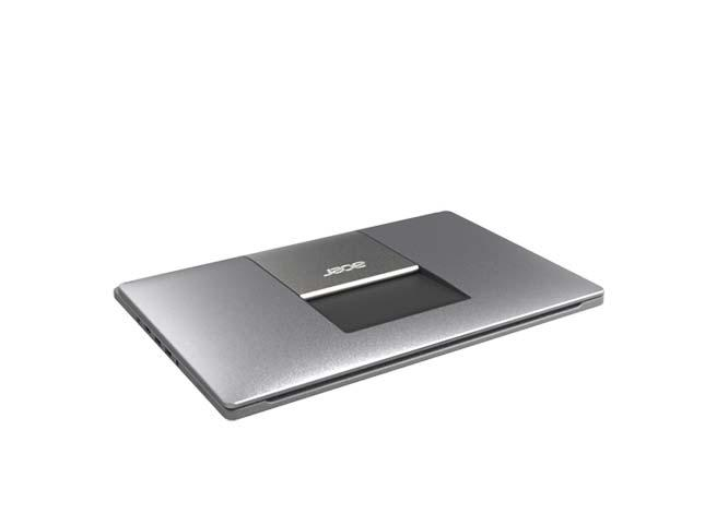The Acer Aspire R7 in its closed position