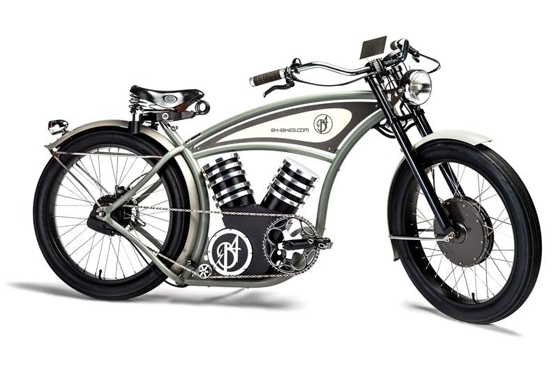 The B4 Bikes e-cruizer electric bike