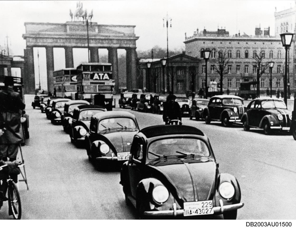 1938: Первые Beetles контрольной серии VW 38