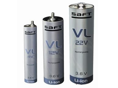 SAFT battery cells similar to the ones recently tested to 180,000 miles