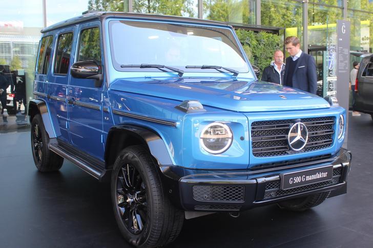 Mercedes-Benz highlights the G-Class individualization program, G manufaktur