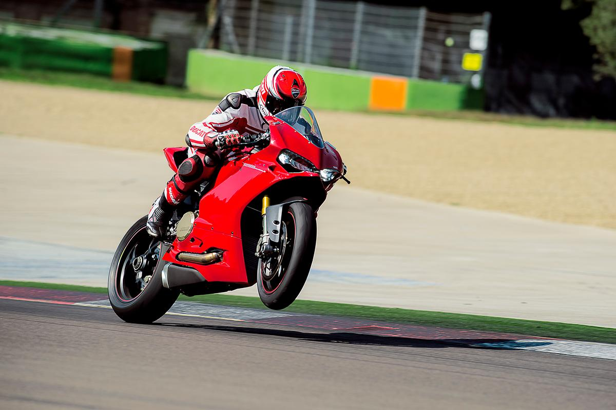 Ducati wrings a ludicrous 205 horsepower out of its V-twin Panigale 1299 superbike