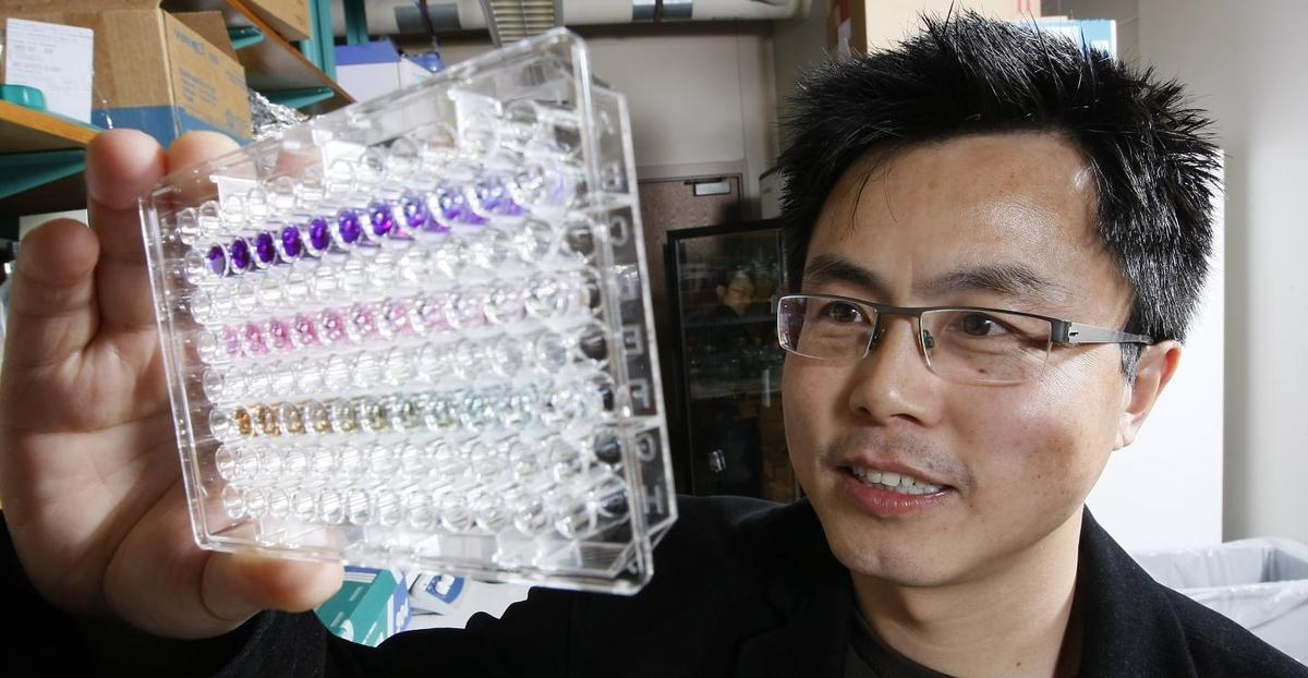 Professor Andy Tao and his team at Purdue University have discovered a new process that could pave the way for the development of a blood test that easilydetects all forms of cancer