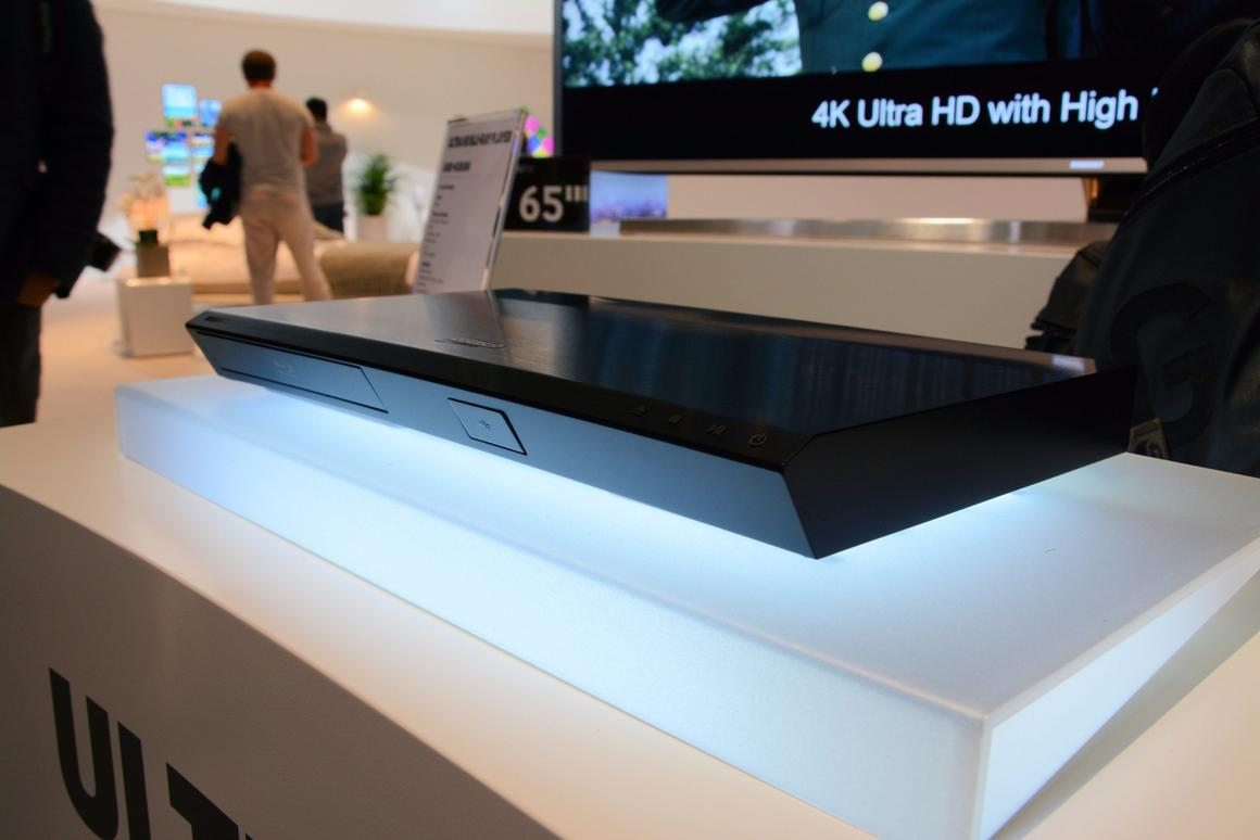 Samsung's UHD Blu-ray player will land some time in 2016