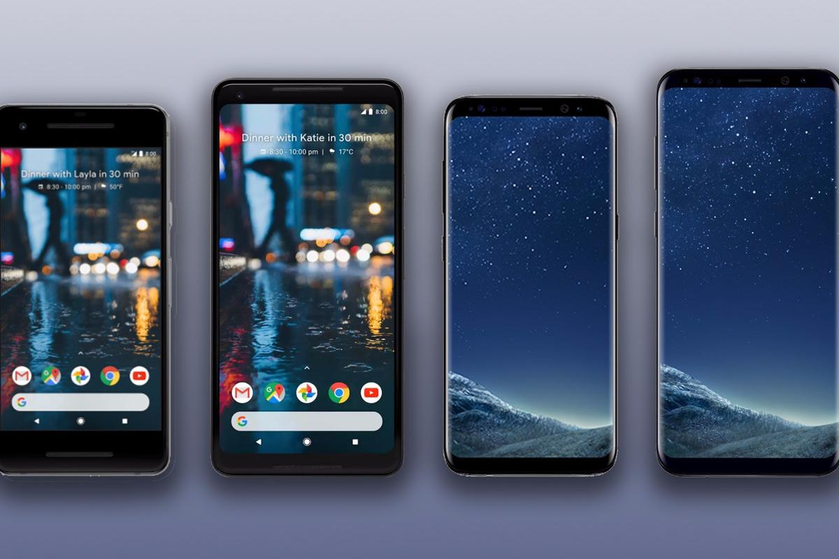 New Atlas compares the specs and features of the Google Pixel 2 and 2 XL with the Samsung Galaxy S8 and S8+