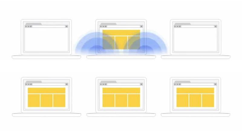 Google Tone uses dual-tone multi-frequency signaling to relay URLs from one computer to another quickly and easily
