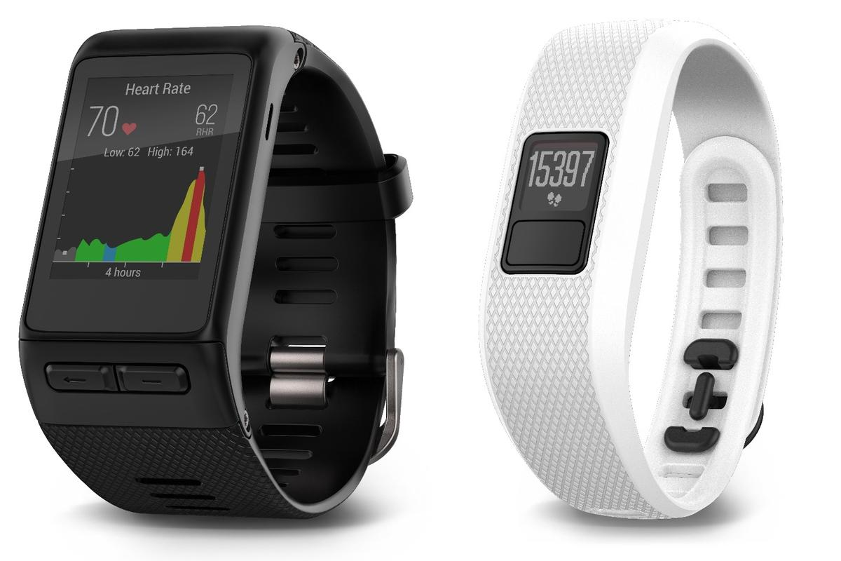 The Garmin vivoactive HR and vivofit 3 are considerably more stylish than their predecessors