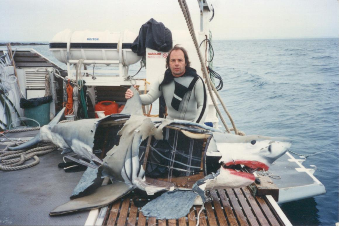 Eddie Paul: How to build a mechanical shark