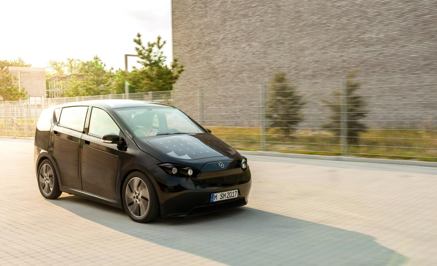 The PV panels installed in the hood, roof and body of the Sion EV are reported to add up to 30 km per day to the range of the car